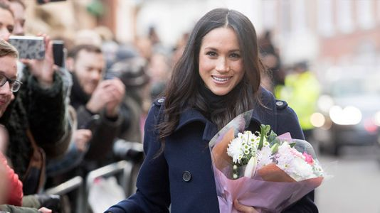 The Internet Had a Lot of Opinions About Meghan Markle's Nearly $5,500 Wrap Dress