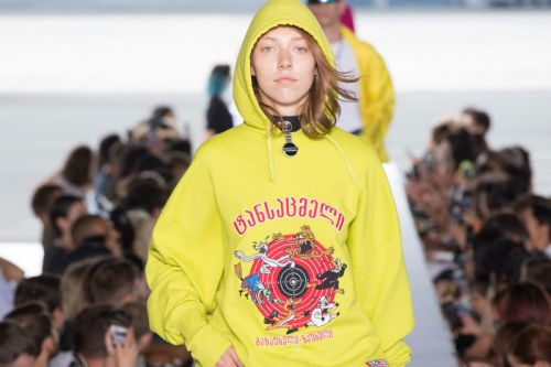 This Vetements SS19 Hoodie Will Have Built-In Augmented Reality Tech