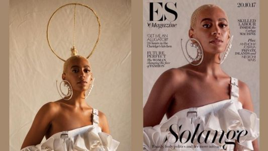 Solange reminds us not to touch any black women's hair
