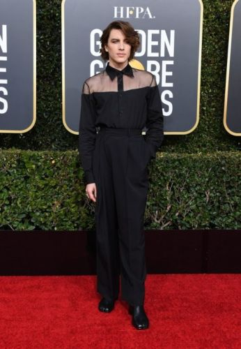 On the Golden Globes 2019 Red Carpet, Gender Norms Be