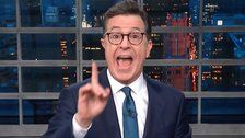 Colbert Exposes TheBiggest Flaw In Trump's Latest Conspiracy Theory