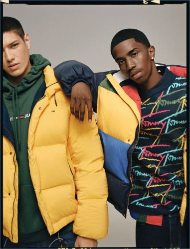 Christian Combs & Aaron Unknown Sport Street Style-Inspired Fashions for Tommy Jeans Fall '18 Campaign