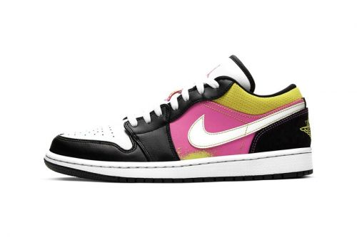 """Air Jordan 1 Low SE """"Cyber"""" Offers Cheerful Colorblocking"""