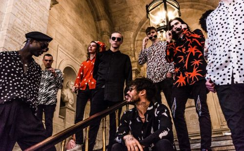 Joshua Mullane takes over New York Public Library for fashion show