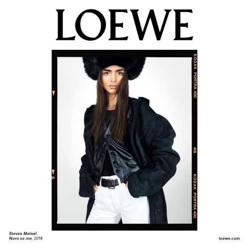 Loewe Previews SS19 Via Their New, Steven Meisel-shot Campaign