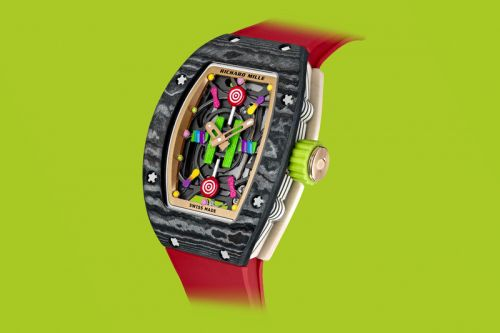 """Richard Mille Set to Release a Daring and Colorful """"Bonbon"""" Collection"""