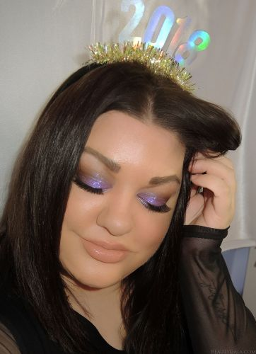 Happy New Year! New Year's Eve Makeup Look