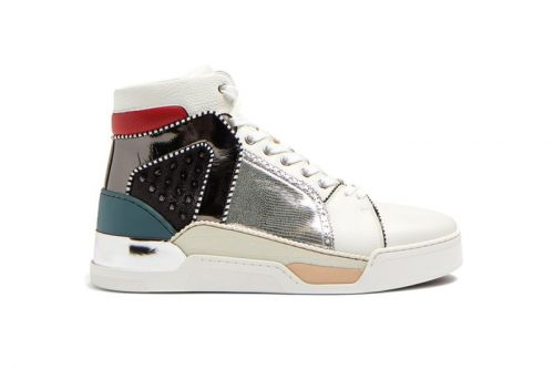 Christian Louboutin's Latest Loubikick Spike Is a Collage of Colors