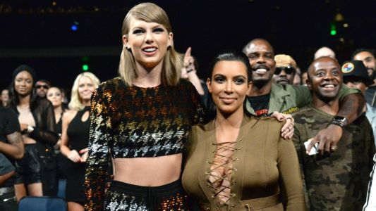 Taylor Swift Shaded Kim Kardashian by Naming Their Snapchat Anniversary Her 'Favorite Day'