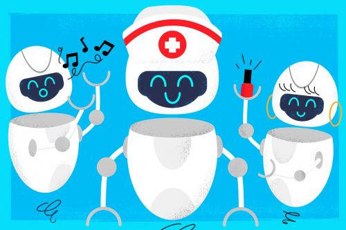 These cool robots can sing 'Happy Birthday' and even paint your nails