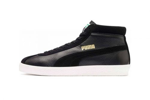 PUMA Revives Its Vintage Basket 68 Mid in Two Monochromatic Palettes