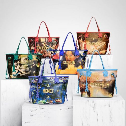 Louis Vuitton Drops Its Second Collection with Jeff Koons