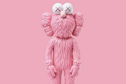 A KAWS Pink 'BFF' Plush May Be in the Works