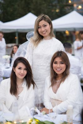 FLARE Was There: The Best Looks from Toronto's Diner En Blanc 2017