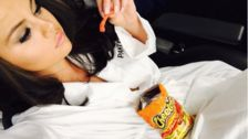 13 Celebs Dish On Their Favorite Comforting Junk Food