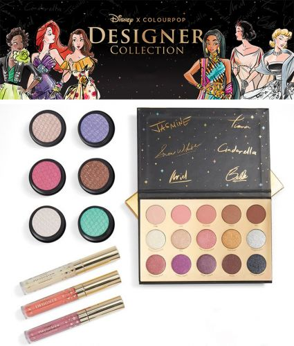 Disney x ColourPop Designer Collection Release Date + Official Swatches