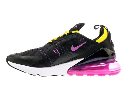 Nike Air Max 270 Surfaces in Pink and Yellow