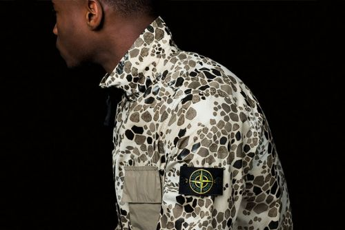 "Stone Island Previews Military-Inspired Spring/Summer 2018 ""Alligator Camo"" Drop"