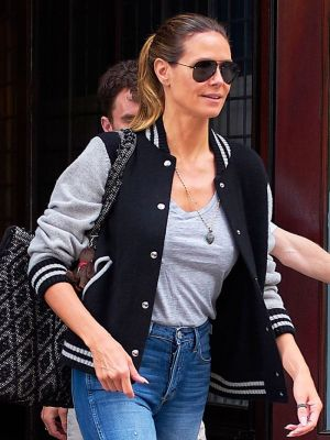 Heidi Klum Just Wore The Gucci Shoes Everyone's Obsessed With