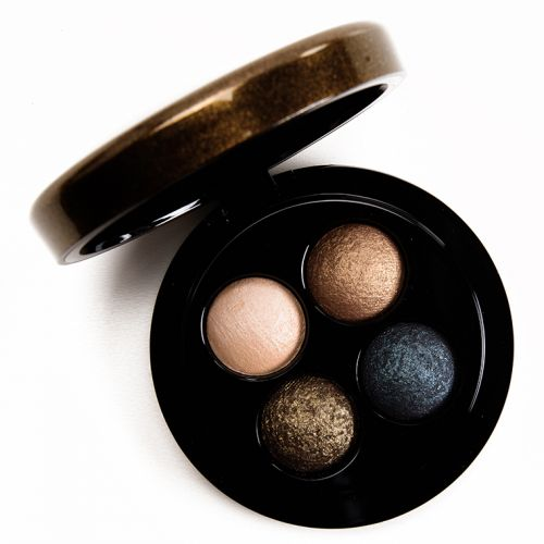 MAC x Jade Jagger Burning Nights Mineralize Eyeshadow Quad Review, Photos, Swatches