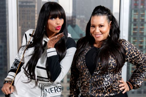 Salt-N-Pepa dish on 'Ladies' Night': 'Nobody got slapped - thank God'