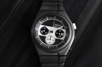 White Mountaineering & Seiko Deliver Minimalist Luxury for Riders Chronograph Watch