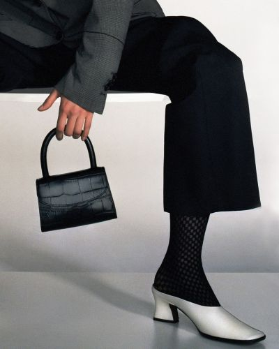 Shoes and Bags Influenced by the Aesthetic of Rachel from Friends