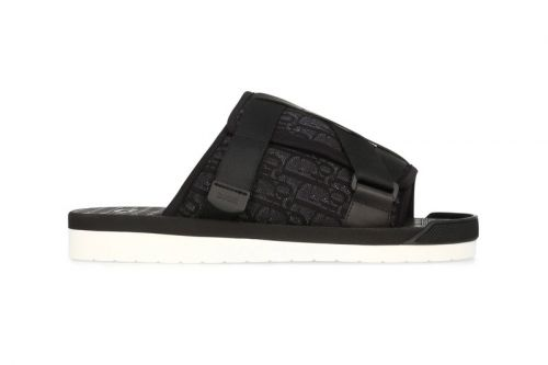 Dior's Luxe Oblique Sandals Land in Black