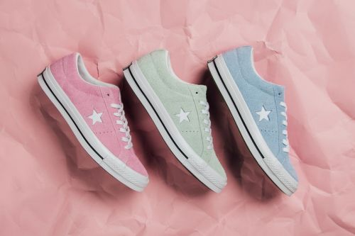 "Converse's One Star Low Welcomes a ""Cotton Candy"" Pack"