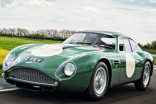 This Aston Martin BD4GT Zagato Is Now the Most Valuable British Car Ever
