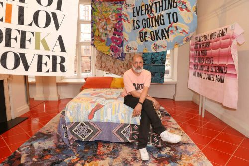 10 Questions With Ashish In Celebration Of His New Collection of Horny Quilts