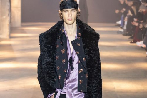 Ann Demeulemeester's FW19 Collection Is Motivated by Rebellion & Rock