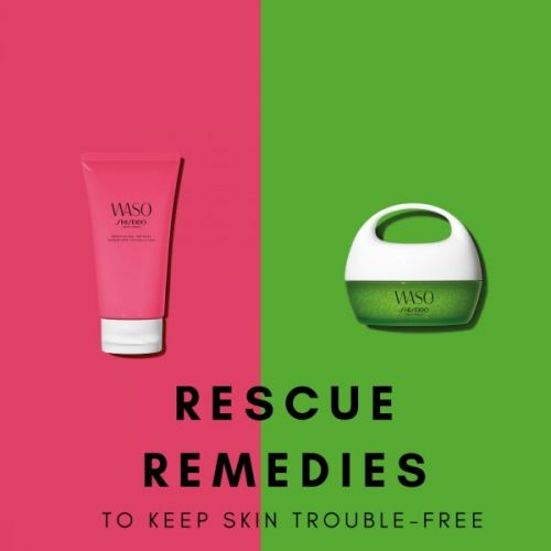 Rescue Remedies to Keep Skin Trouble-Free