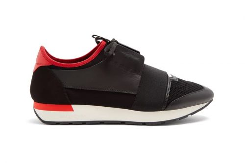 "Balenciaga Drops the Race Runner in A ""Bred""-Like Color Scheme"