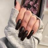 Khloé Kardashian Just Revealed a Dark, Vampy Nail Polish Color That's Perfect For Halloween