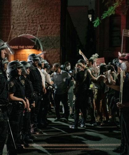Police Are Beating People To The Ground To Enforce The Racist Curfew