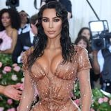 Kim Kardashian Tested Her New Body Makeup on Her Grandma, and the Photos Are So Sweet