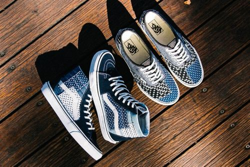 Vans Brings Japanese Boro to the Sk8-Hi & Authentic