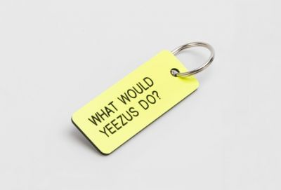 Ask Yeezus With This Line of Colorful Keychains