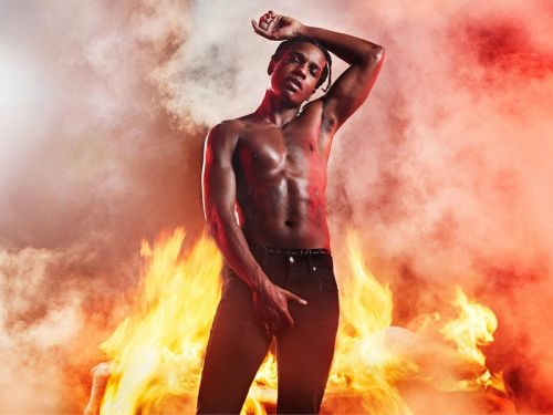 A$AP Rocky is Fire in Calvin Klein MYCALVINS Campaign