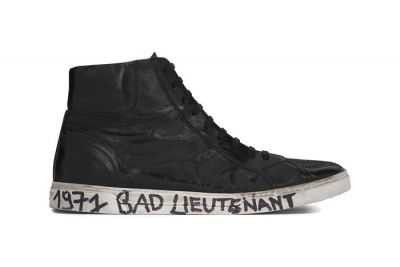 Saint Laurent's Newest Sneakers Hop on the Scribbled Midsole Trend