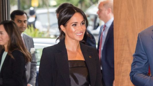 Meghan Markle Wore a Thing: Altuzarra Pantsuit Edition