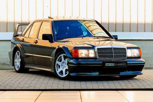 Ultra-Rare 1990 Mercedes-Benz 2.5-16 Evolution II in Pristine Condition Heads to Auction