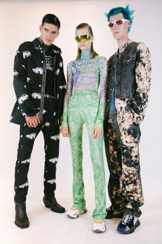 Floppy disks, fire-throwing robots, and Keith Flint hair: Pitti & MFW SS20