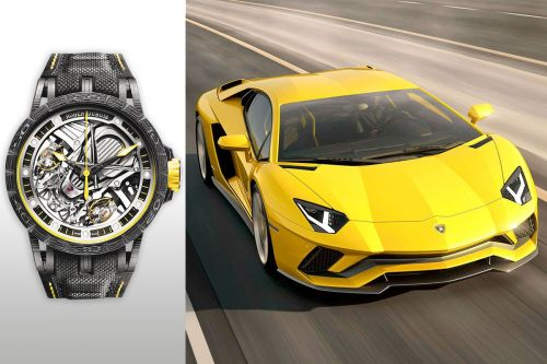 Supercars share secrets with luxe watches