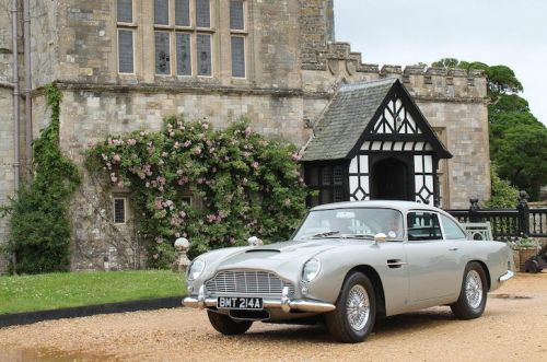 1965 Aston Martin DB5 From 'Goldeneye' Set up for Auction