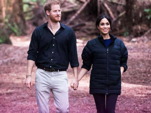 Meghan Markle Wore Prince Harry's Puffer Coat - & Now We Want One, Too