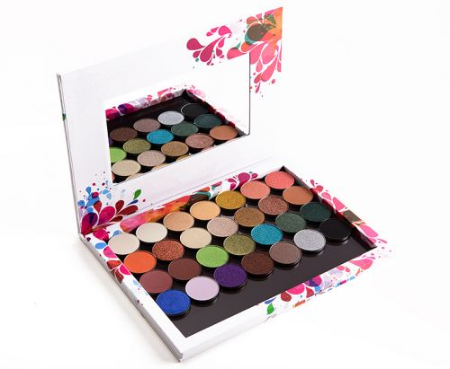 16 x Coloured Raine Eyeshadow Quad Ideas