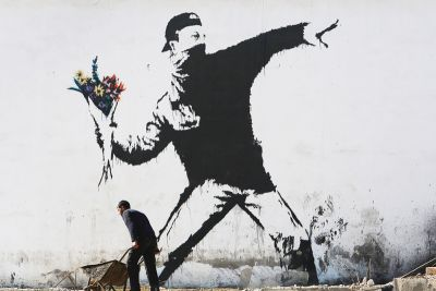 Banksy's Long-Lost Artwork, Jeff Koons' 'Balloon Dog' for JAY-Z & More Art You Need to See