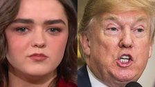 Maisie Williams Zings Donald Trump While Teasing 'Game Of Thrones' Ending